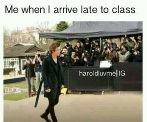 Harry Styles, one direction, and school image