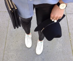 adidas, celine, and hat image