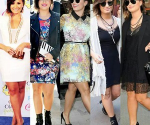 demi lovato, style, and girl image