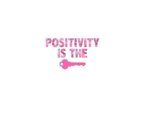 key, pink, and quote image