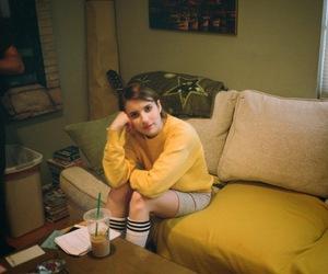 emma roberts, yellow, and Palo Alto image