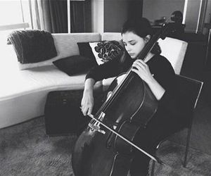 cello, if i stay, and book image