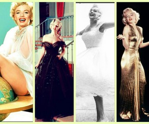 Collage, Marilyn Monroe, and vintage image