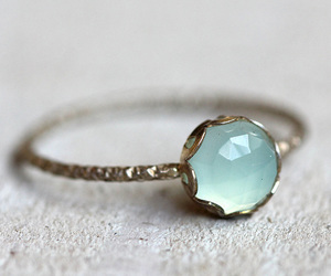 ring, fashion, and blue image