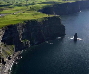 beauty, cliffs, and green image