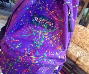 bag, jansport, and backpack image