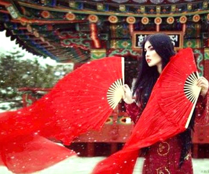 fan and red image