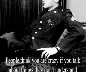 quote, Elvis Presley, and crazy image