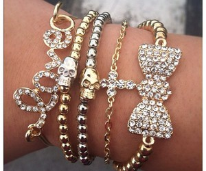 bracelets and bow image