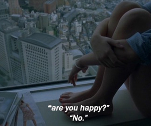 alone, girl, and happy image