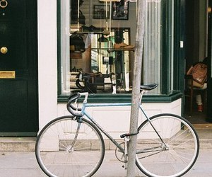 bike, vintage, and city image