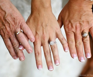 wedding, bride, and mother image