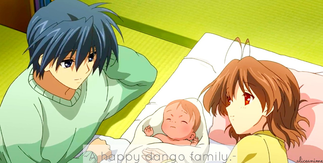 Clannad After Story クラナド A Big Dango Family