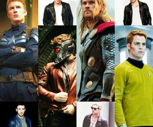 captain america, chris pine, and Marvel image