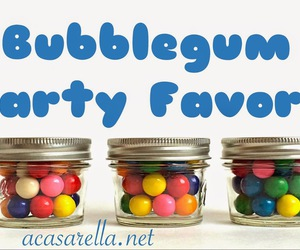 bubblegum, colorful, and party favors image