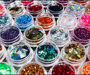 glitter, sparkle, and colors image