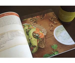 coffee, cookbook, and foodie image