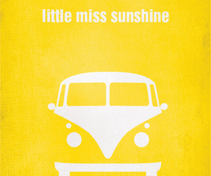 yellow, little miss sunshine, and poster image