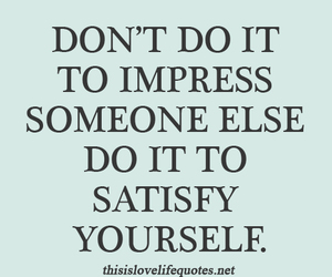 quote, text, and Impress image