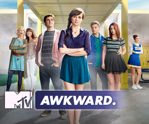awkward, mtv, and series image