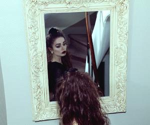 dark, grunge, and mirror image