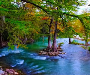 color, gorgeous, and lagoon image