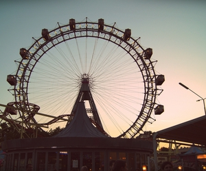 sightseeing, vienna, and prater image