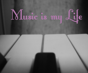 life, music, and piano image