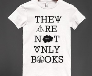books, fashion, and harry potter image