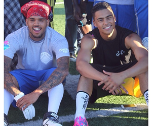 quincy, chris brown, and sexy image