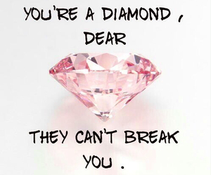 dear, diamond, and pink image
