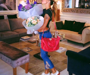 flowers, sexy, and belen rodriguez image