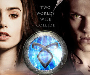 city of bones, jace, and clary image