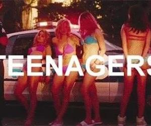 teenager, spring breakers, and selena gomez image