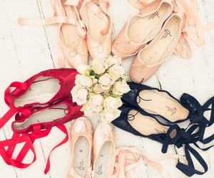 ballet, pretty, and ballet shoes image