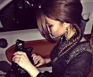 girl, luxury, and brunette image