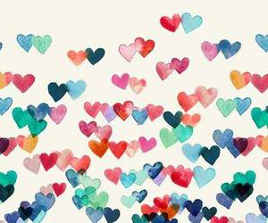 hearts, wallpaper, and heart image