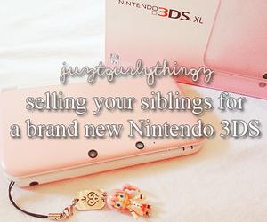 nintendo, siblings, and justgirlythings image
