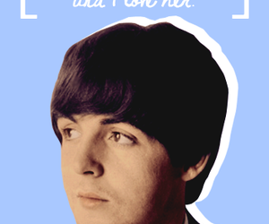 beatle, Paul McCartney, and quote image