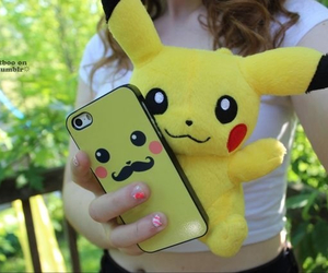 peluche, pikachu, and coque image