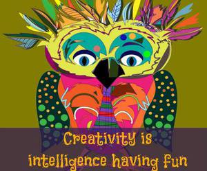 art, fun, and intelligence image