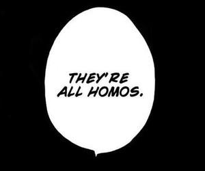 manga, monochrome, and text image