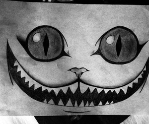 black, drawing, and smile image