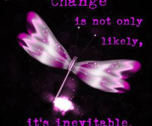 change, dragonfly, and unevitable image