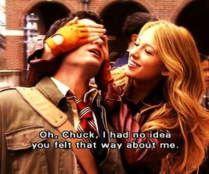 chuck, guess, and Relationship image
