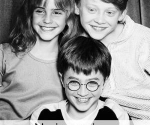 harry potter, hermione granger, and ron weasly image