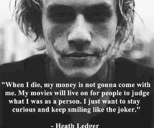 heath ledger, joker, and quotes image