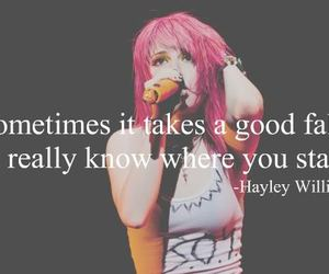 paramore, hayley williams, and quote image