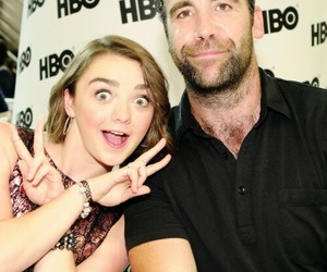 game of thrones, maisie williams, and rory mccan image
