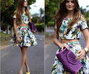girl, shoes, and bag image